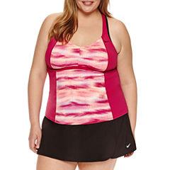 Nike Tankini Swimsuit Top-Plus
