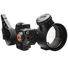 Apex Gear Covert Pro Single-Pin Sight-Green PowerDot-Black
