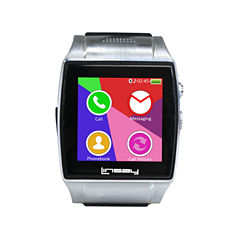 LINSAY® NEW Executive EX-5L Smartwatch with camera for video/photo and up to 64GB Micro SD SLOT
