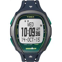 Timex Ironman Sleek 150 Unisex Blue Strap Watch-Tw5m098009j