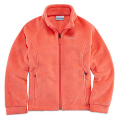 Columbia Sportswear Co. Lightweight Fleece Jacket-Big Kid Girls