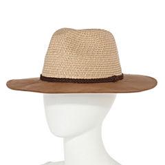 Olsenboye® Suede Brim Panama Hat