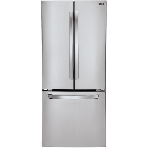 LG ENERGY STAR® 21.8 cu. ft. 30 Wide French Door Refrigerator with Multi-Air Flow Cooling