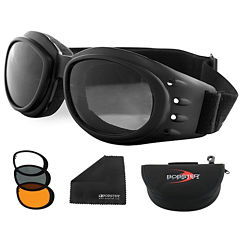 Bobster Cruiser 2 Interchange Goggle Black Frame w/3 Lenses