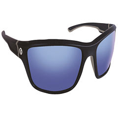 Flying Fisherman Cove Navy w/Smoke Blue Mirror Sunglasses