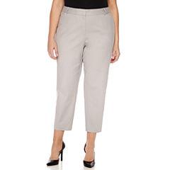 Liz Claiborne Ankle Pants-Plus