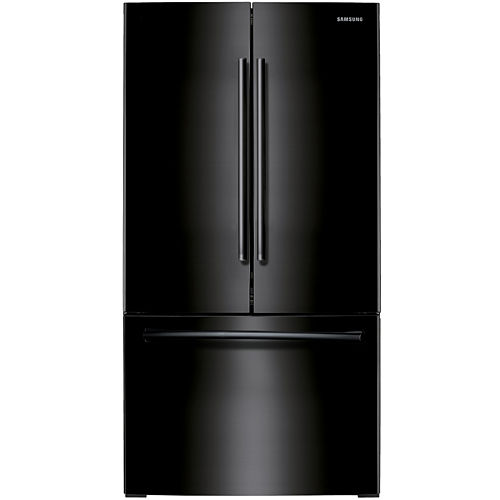 """Samsung ENERGY STAR® 26 cu. ft. 36"""" Wide 3-Door French Door Refrigerator with Filtered Ice Maker"""