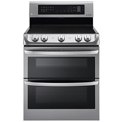 LG 7.3 cu. ft.  Freestanding Electric Double Oven Range with ProBake Convection®, EasyClean® and UltraHeat Element