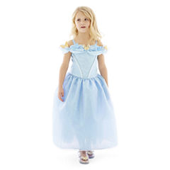 Disney Collection Cinderella Deluxe Costume or Shoes – Girls 2-12