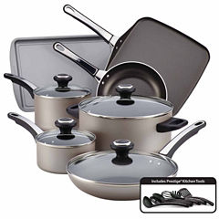 Farberware 17-pc. Aluminum Cookware Set