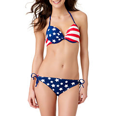 Arizona Star Bra Swimsuit Top or Keyhole Hipster Swim Bottom-Juniors