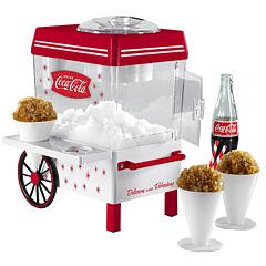 Nostalgia SCM550COKE Coca-Cola Snow Cone Maker & Shaved Ice Storage