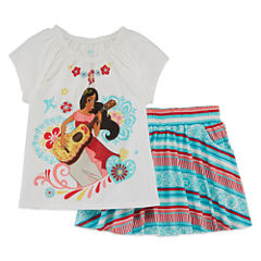 Disney Elena of Avalor Skort Set Preschool Girls