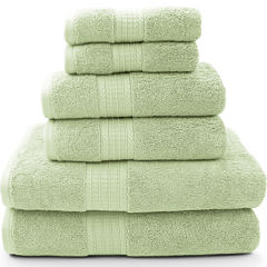 Pacific Coast Textiles™ Luxury Spa 6-pc. Solid Bath Towel Set