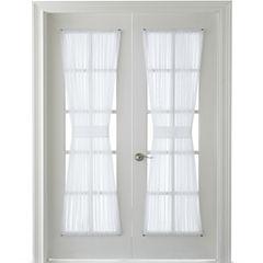 MarthaWindow™ Voile Rod-Pocket Door Panel