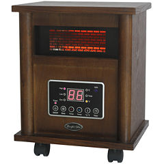 Comfort Glow Infrared Quartz Heater Wood