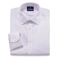 Stafford Executive Non-Iron Cotton Pinpoint Oxford - Big & Tall Long Sleeve Dress Shirt