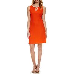 Ronni Nicole Sleeveless Embellished Sheath Dress