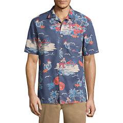 St. John's Bay Havana Crosshatch Shirt