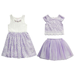 Young Land Skirt Set Toddler Girls
