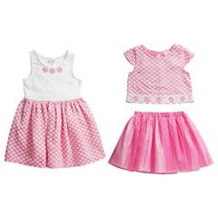 Young Land Girls Skirt Set and Dress