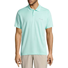 Columbia Short Sleeve Knit Polo Shirt