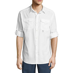 Columbia Long Sleeve Button-Front Shirt