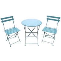 Outdoor Oasis Bistro 3-pc. Set (Blue)