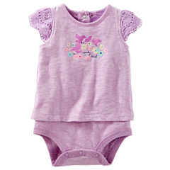 Oshkosh Short Sleeve Bodysuit - Baby Girls
