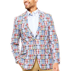 U.S. Polo Assn. Classic Fit Woven Patchwork Sport Coat