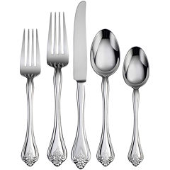 Oneida® Boutonniere 45-pc. Flatware Set