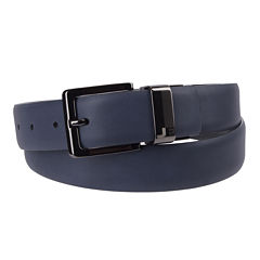 JF J. Ferrar® Feather Edge Reversible Belt with Laser Engraved Buckle - Big and Tall