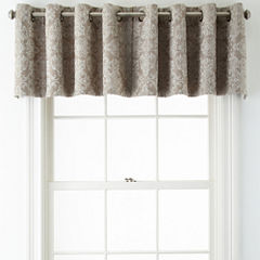 JCPenney Home™ Addison Blackout Grommet-Top Tailored Valance