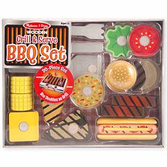 Melissa & Doug® Grill & Serve BBQ Set
