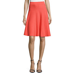 Worthington Rayon Skater Skirt