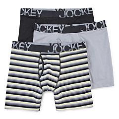 Jockey® 3-pk. Active Stretch Midways
