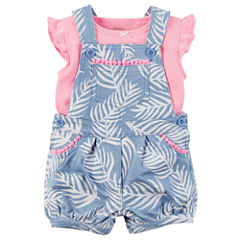 Carter's 2-pc. Shortall Set Baby Girls