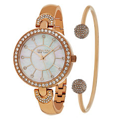 So & Co Womens Rose Goldtone Bracelet Watch-Jp16298