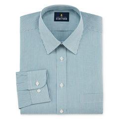Stafford Travel Performance Super Shirt-Big & Tall Long Sleeve Dress Shirt