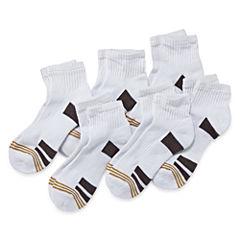 Gold Toe® 6-pk. Performance Quarter Socks - Boys 7-11