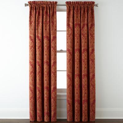 Royal Velvet® Manchester Rod Pocket Curtain Panel