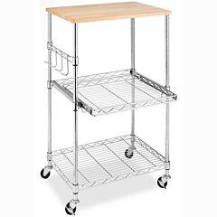 Whitmor Supreme Microwave Cart