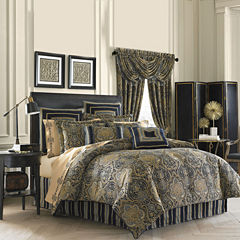 Queen Street® Valentino 4-pc. Chenille Comforter Set & Accessories
