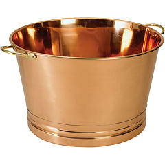 Old Dutch International® Décor Copper Party Beverage Tub
