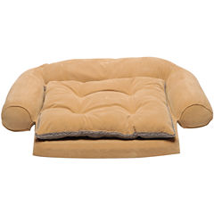 Carolina Pet Co. Ortho Mircofiber Pet Bed with Removable Cushion