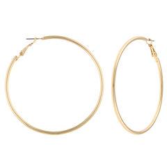 Decree Freeform Hoop Earrings