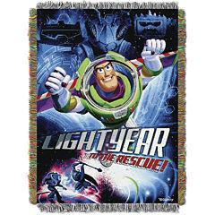 Disney Toy Story Buzz Lightyear Tapestry Throw