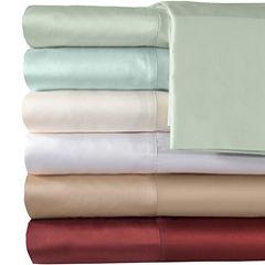American Heritage 500tc Cotton Sateen Solid Sheet Set
