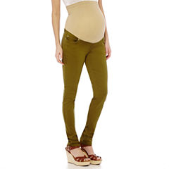 Maternity Overbelly Colored Skinny Jeans