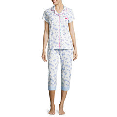Laura Ashley 2-pc. Floral Pant Pajama Set